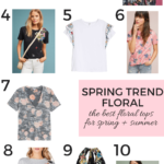 Spring Trend - Floral Tops