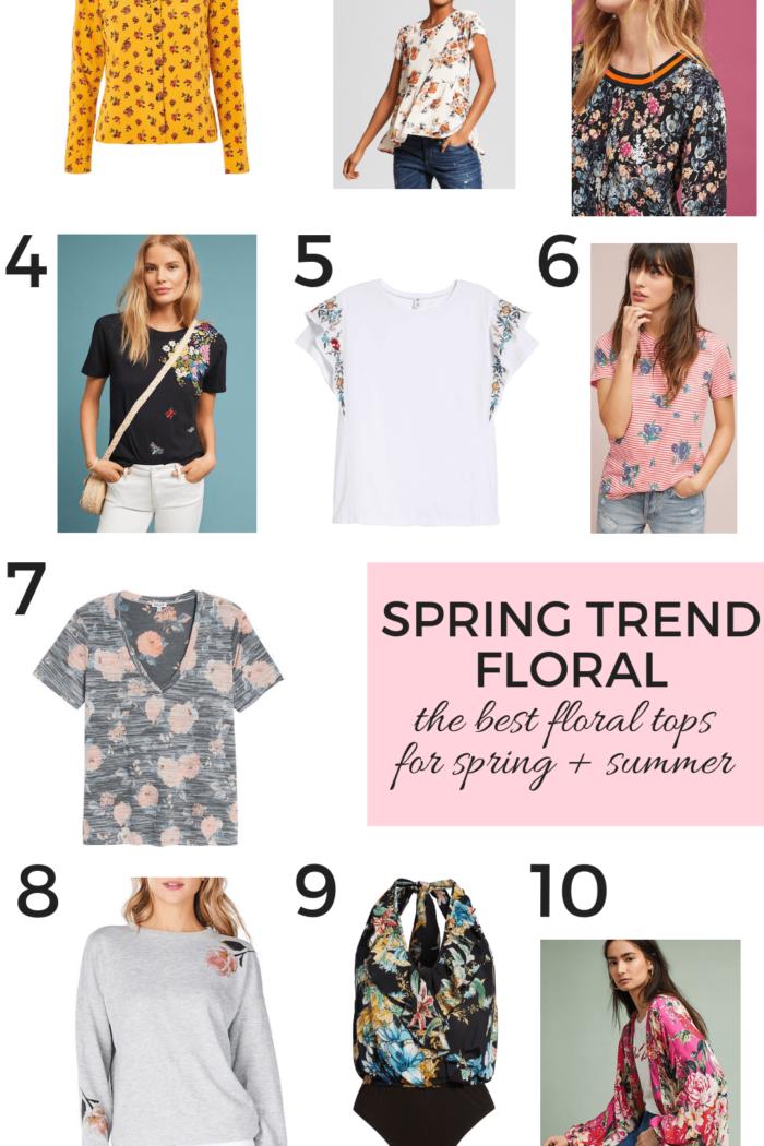 Spring Trend – Floral Tops
