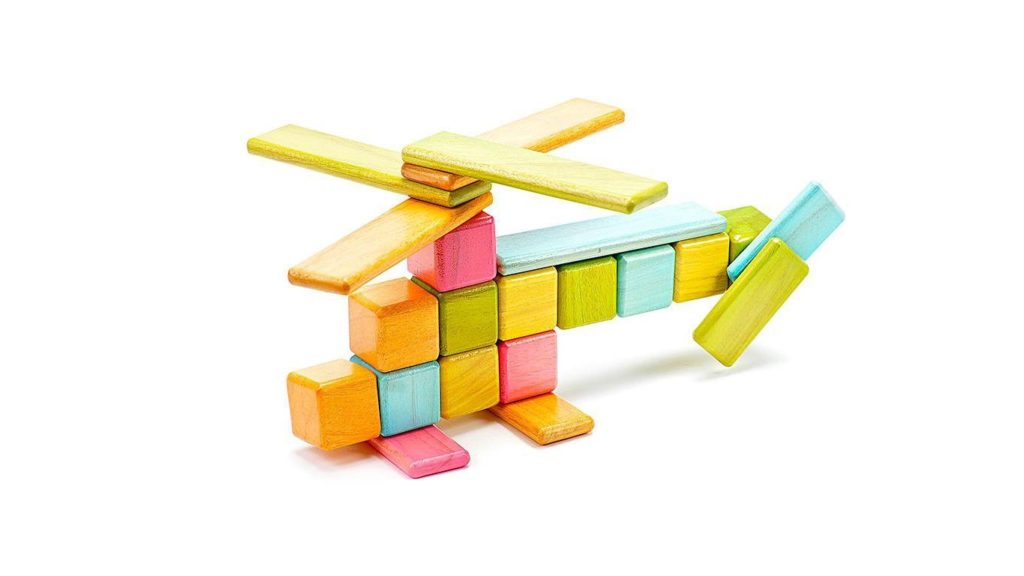 Tegu magnetic wooden blocks and toys. Give a gift with purpose, click through for more ideas!
