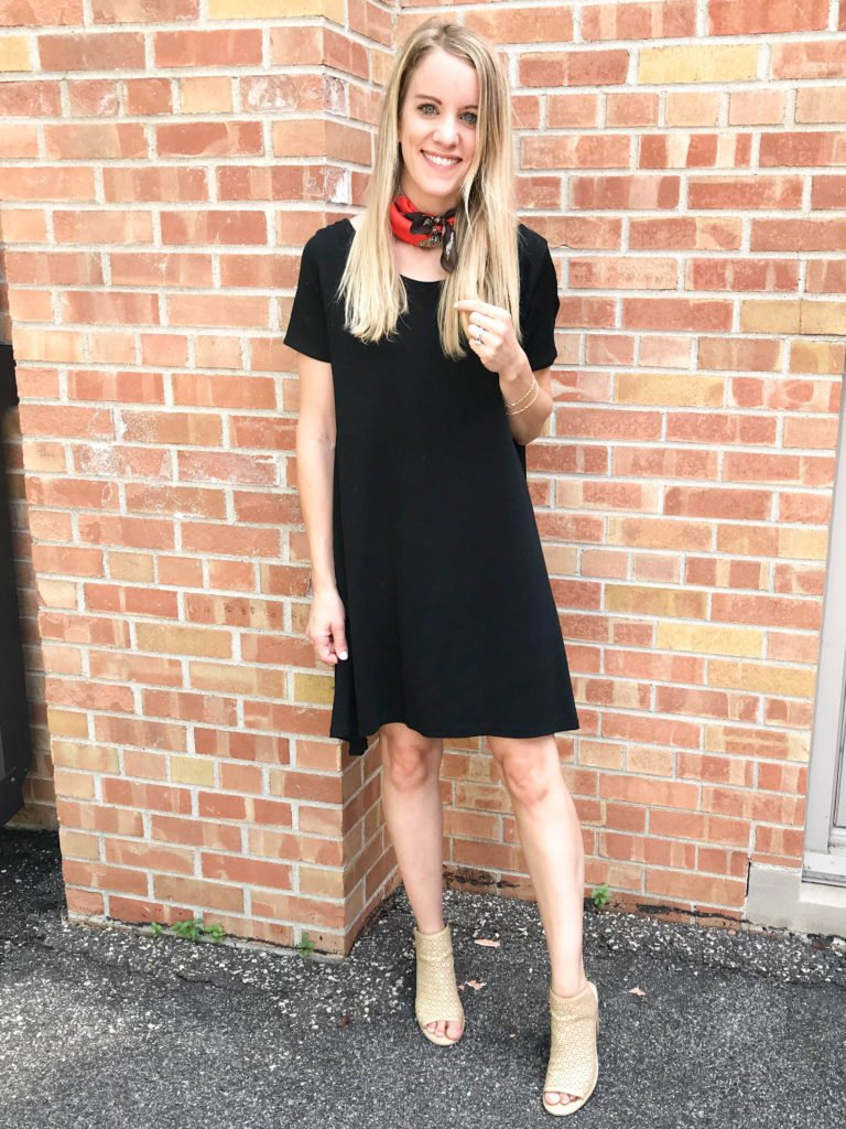 all black outfit - what to wear to a concert