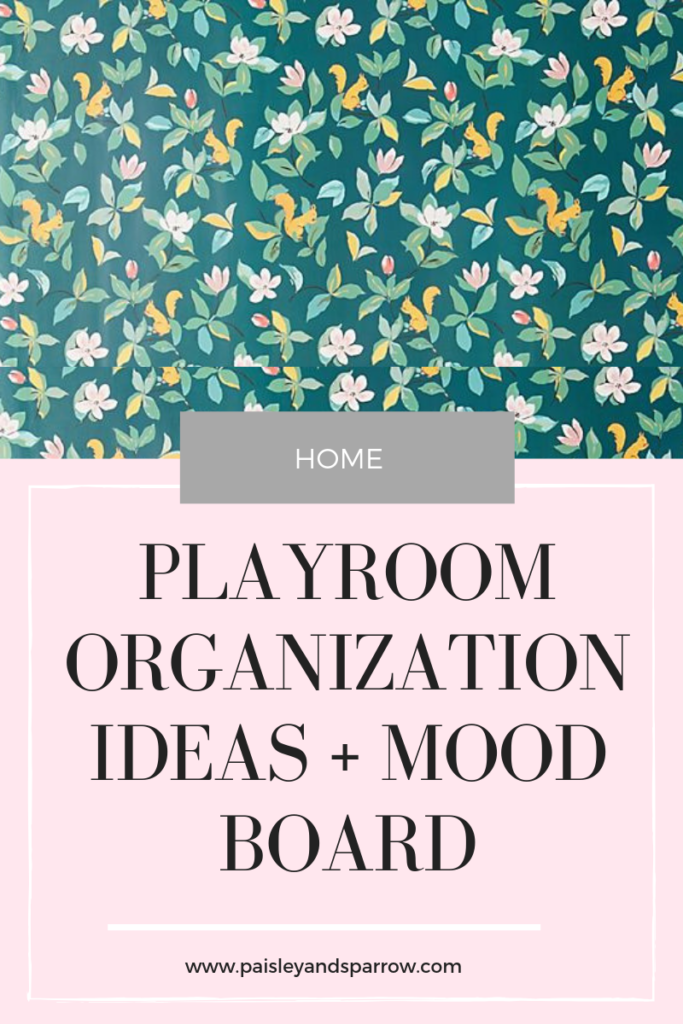 playroom organization ideas + inspiration