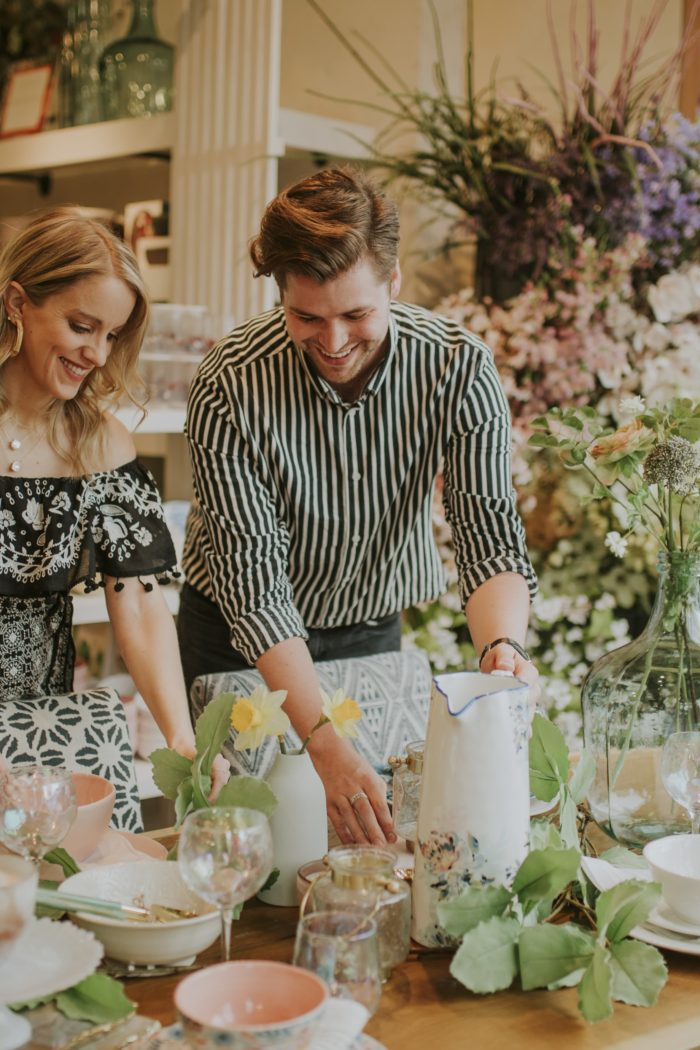 SUMMER ENTERTAINING SOIRÉE WITH ANTHROPOLOGIE