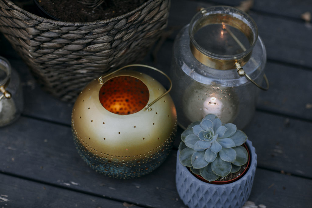 Lanterns for outdoor entertaining
