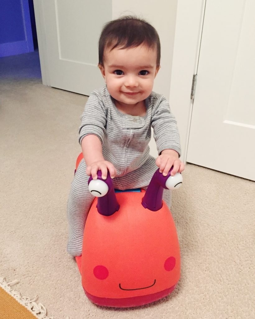 The cutest snail ever that has a purpose! Check out even more baby gifts that give back.