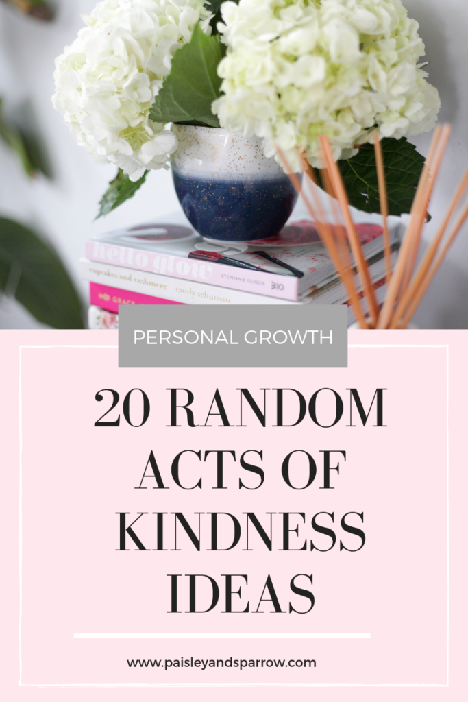 20 random acts of kindness