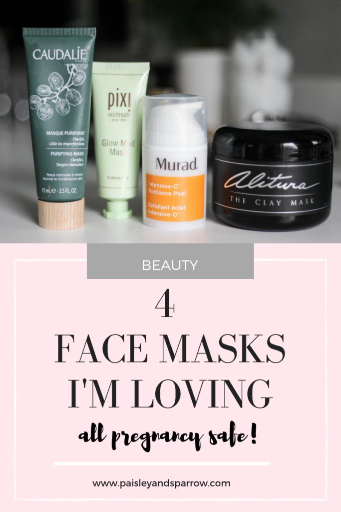 4 face masks I love