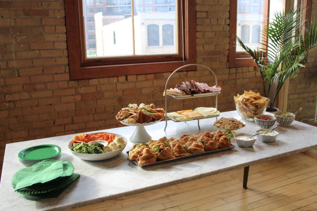 Food at Minne Mama Meetup