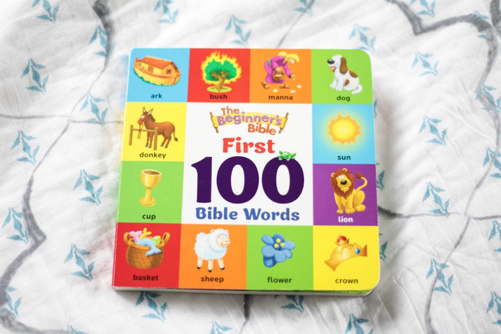 The Beginner's Bible First 100 Bible Words-2