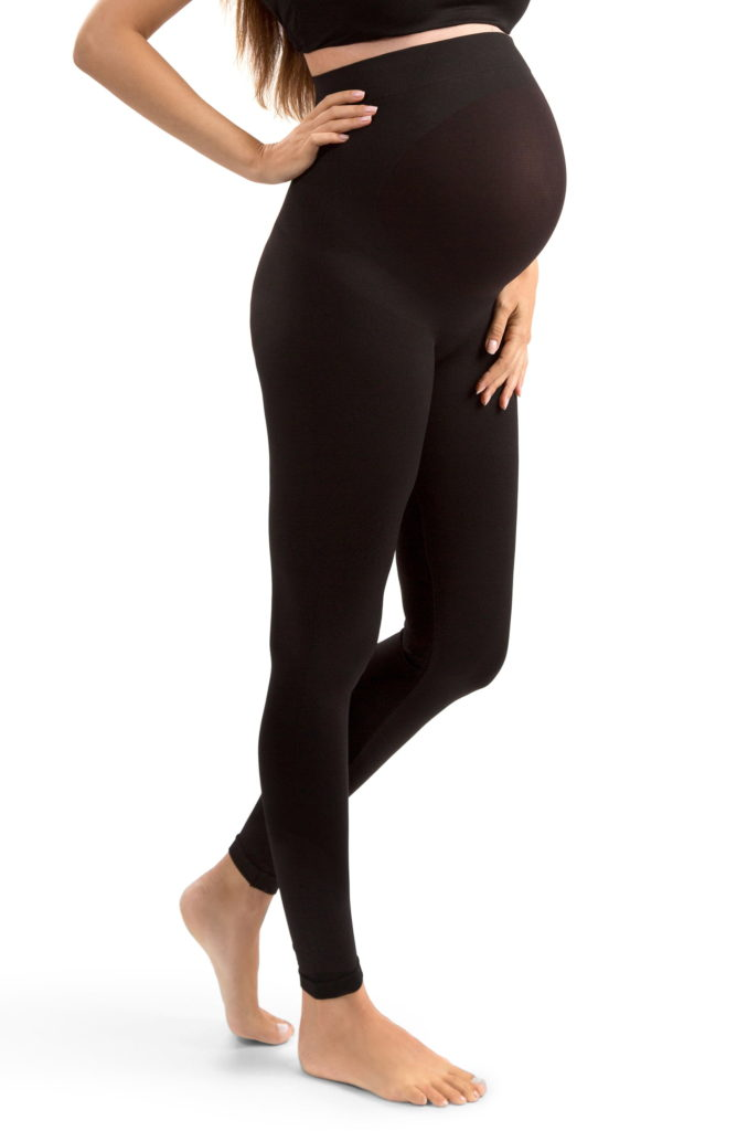blanqi maternity leggings - great for 2nd and 3rd trimester