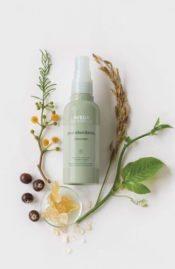 Aveda pure abundance style prep spray for fine hair