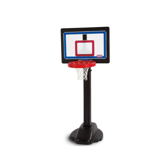 Adjustable basketball hoop - a great idea for a toddler boy birthday! Click through for 14 more ideas for 3 year old boy gifts!
