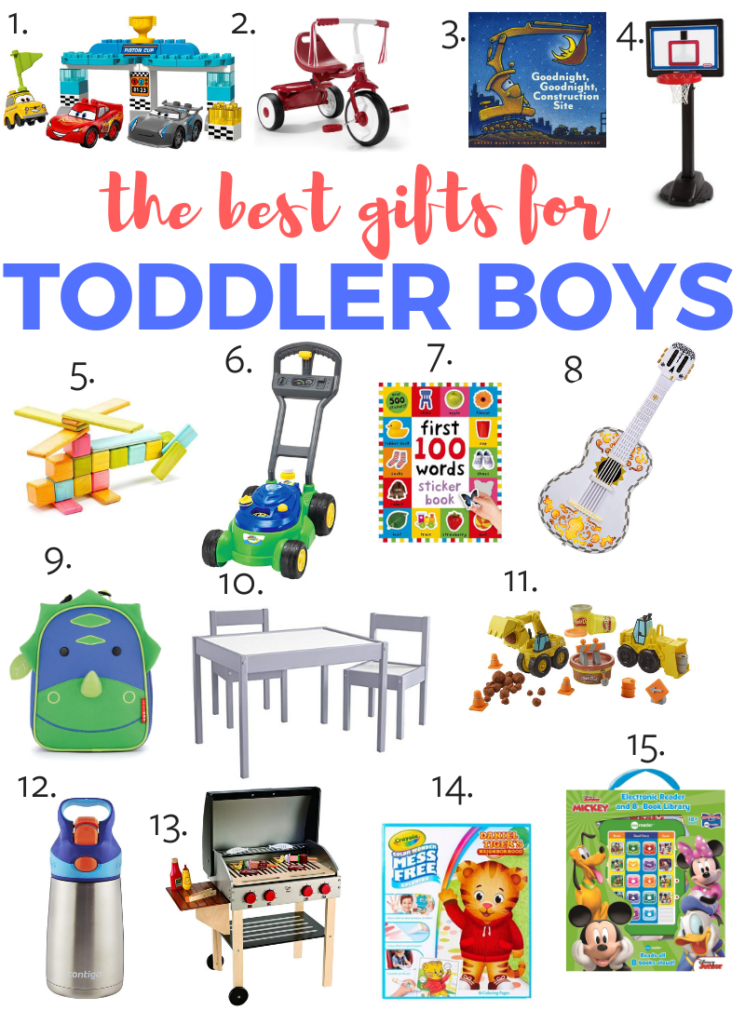 The best toys for 3 year old boys! Tested and approved products that any 3 year old boy would love!