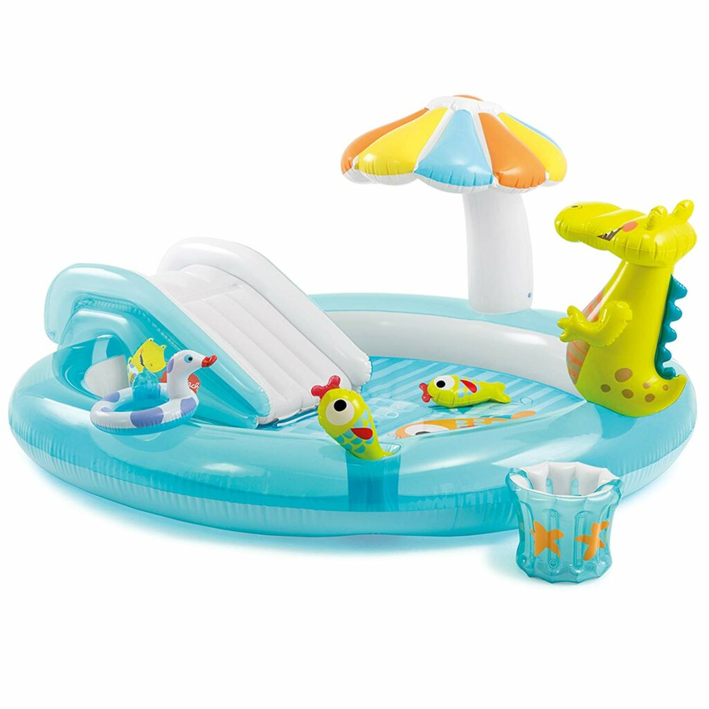 Blow up pool - the perfect outdoor pool for toddlers!