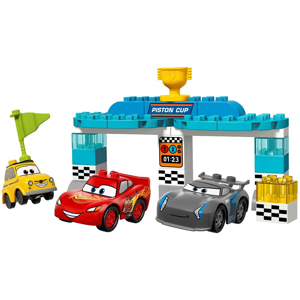 Cars legos for a toddler boy! Click through for 14 more ideas for 3 year old boy gifts!