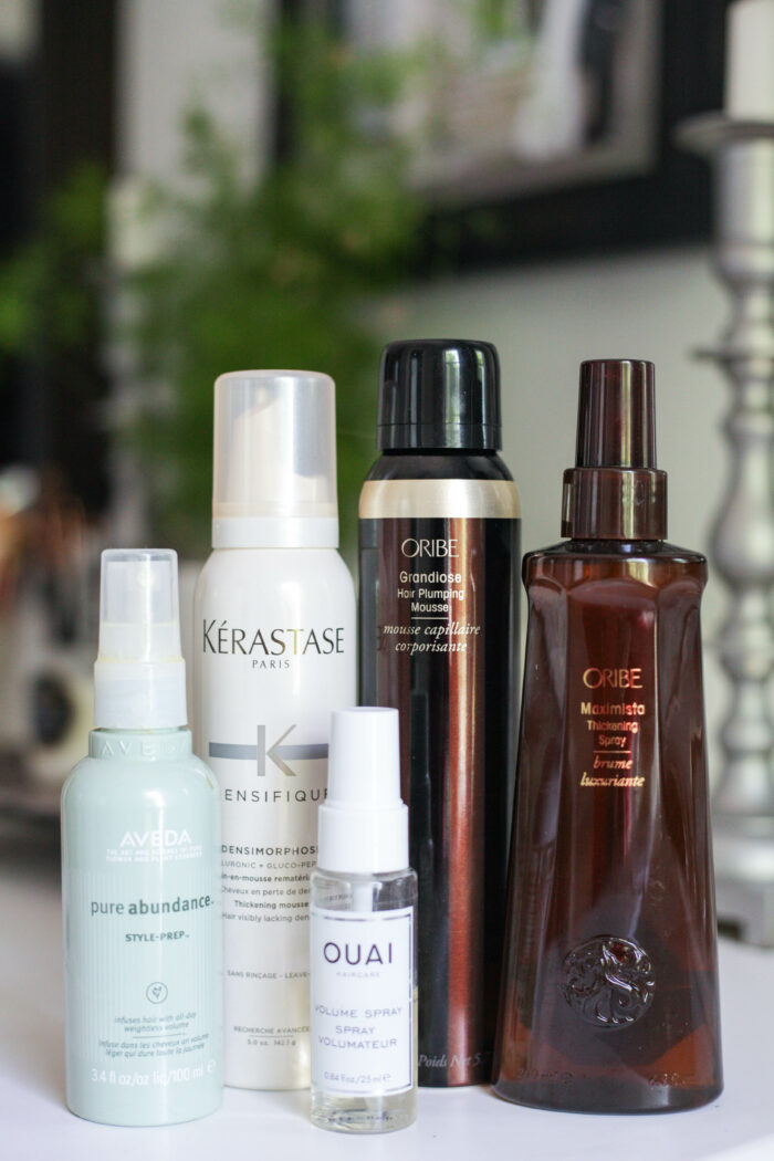 6 Amazing Hair Thickening Products