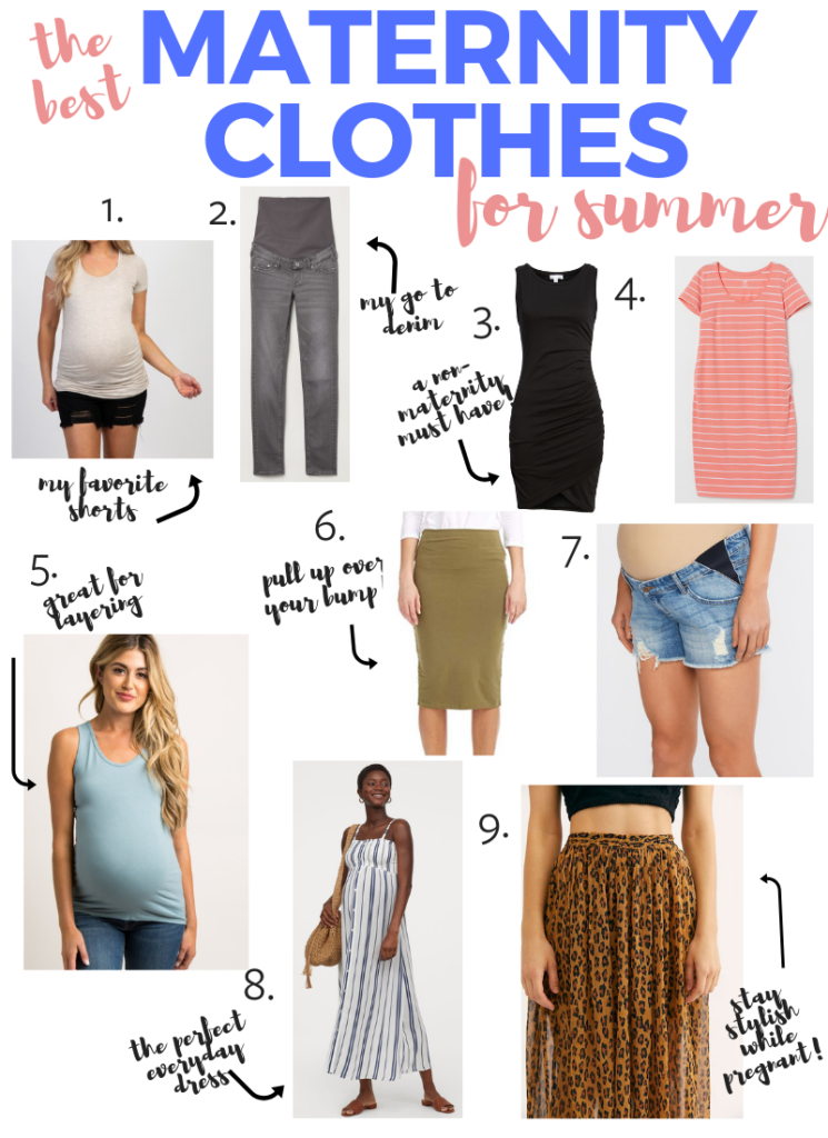 Pregnancy Outfit Ideas For Summer - 9 must have items that aren't all maternity!
