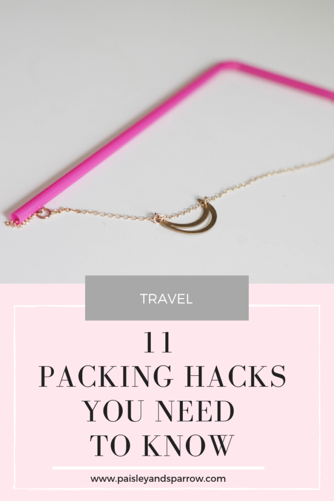 11 genius packing hacks you need to know!