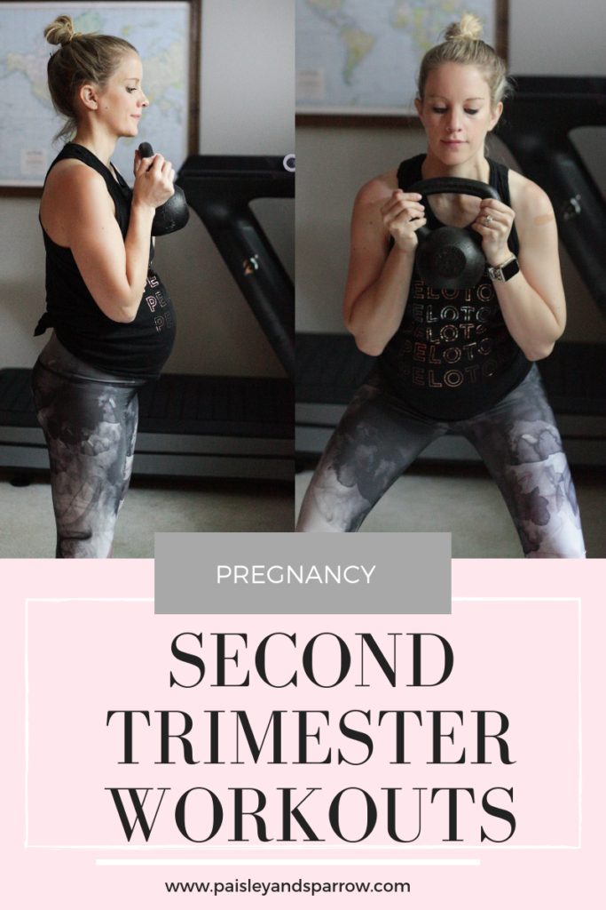 Second trimester workouts to do to stay fit during pregnancy.