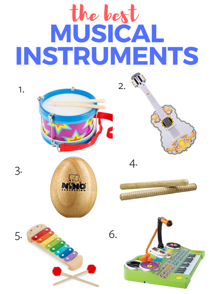 Best toys for toddlers - the 6 best musical instruments your kiddo needs!