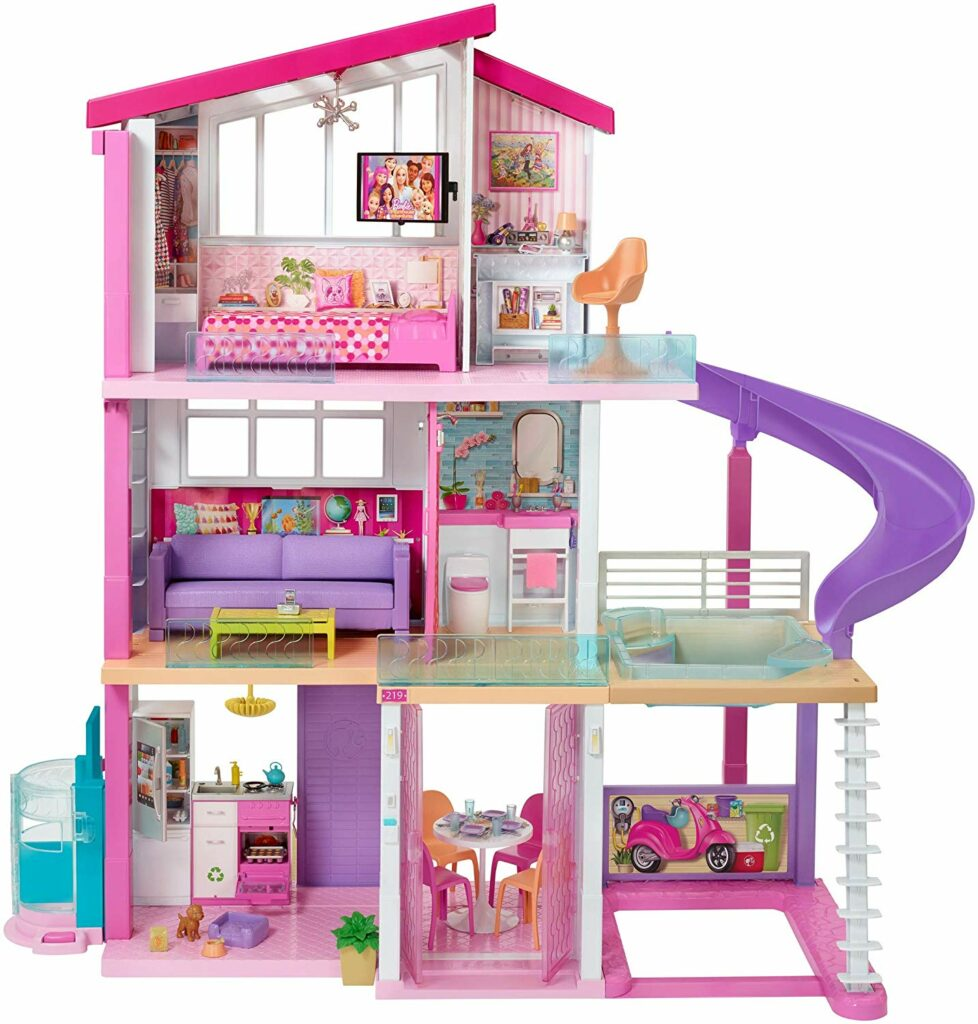 A barbie dream house