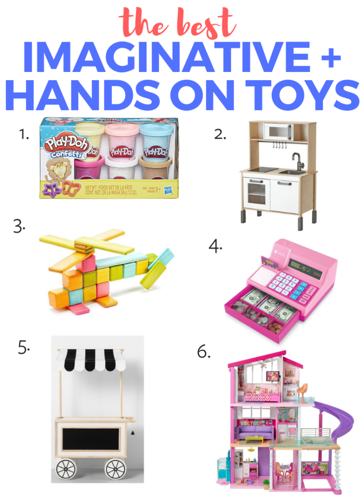 Best toys for toddlers - the 6 best toys for imagination or hands on time!