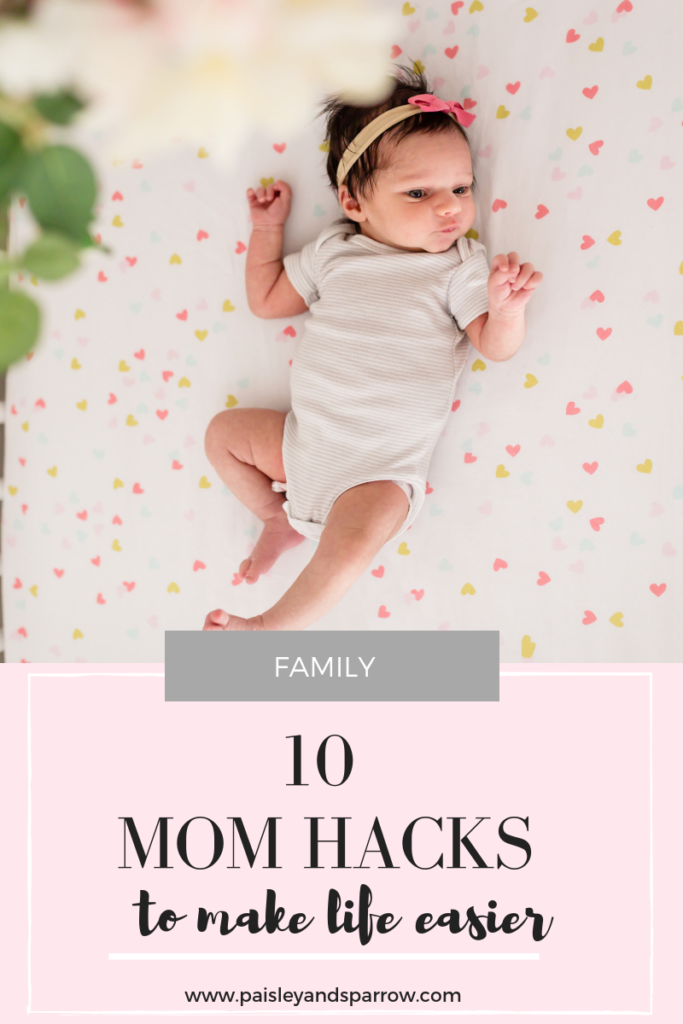10 mom hacks to make life easier