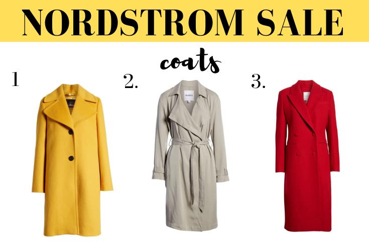 Nordstrom Anniversary Sale - coats