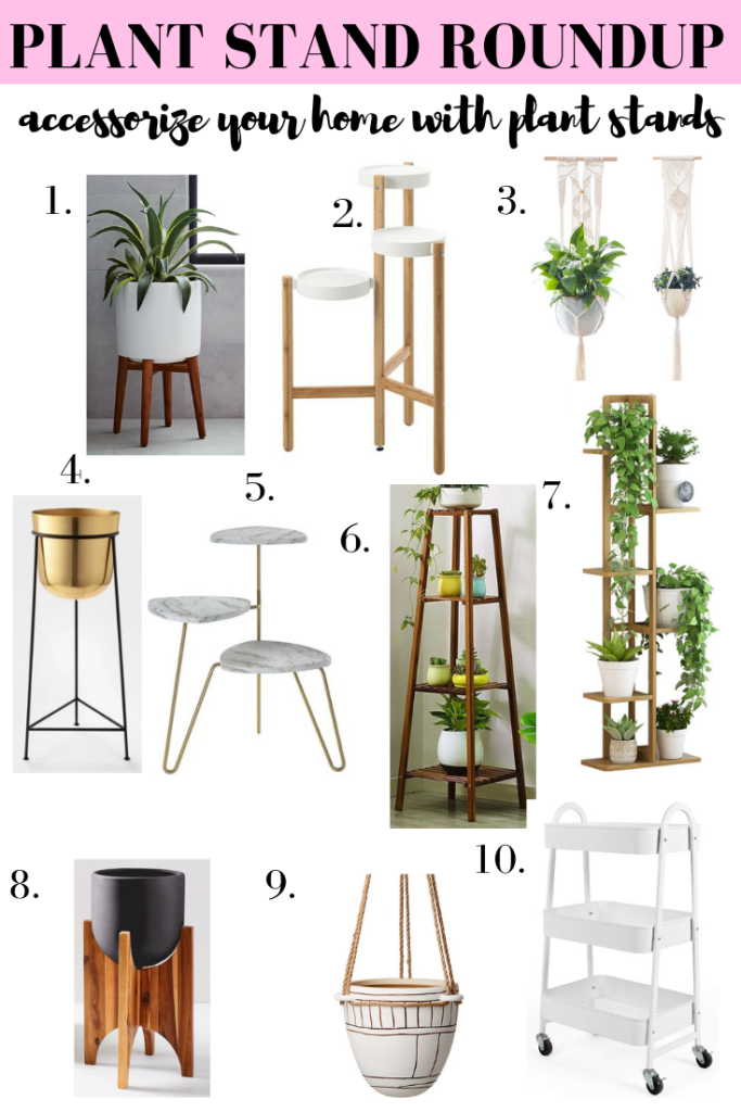 Indoor Plant Stands - 10 of my favorite ways to display your plants!