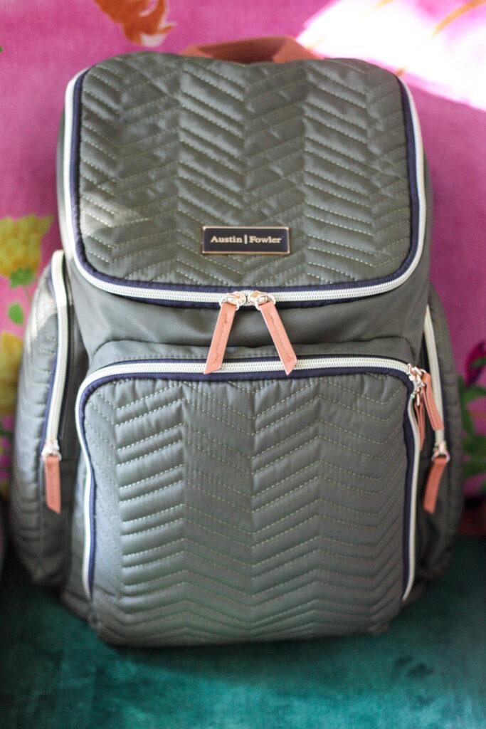 diaper bag backpack from austin fowler
