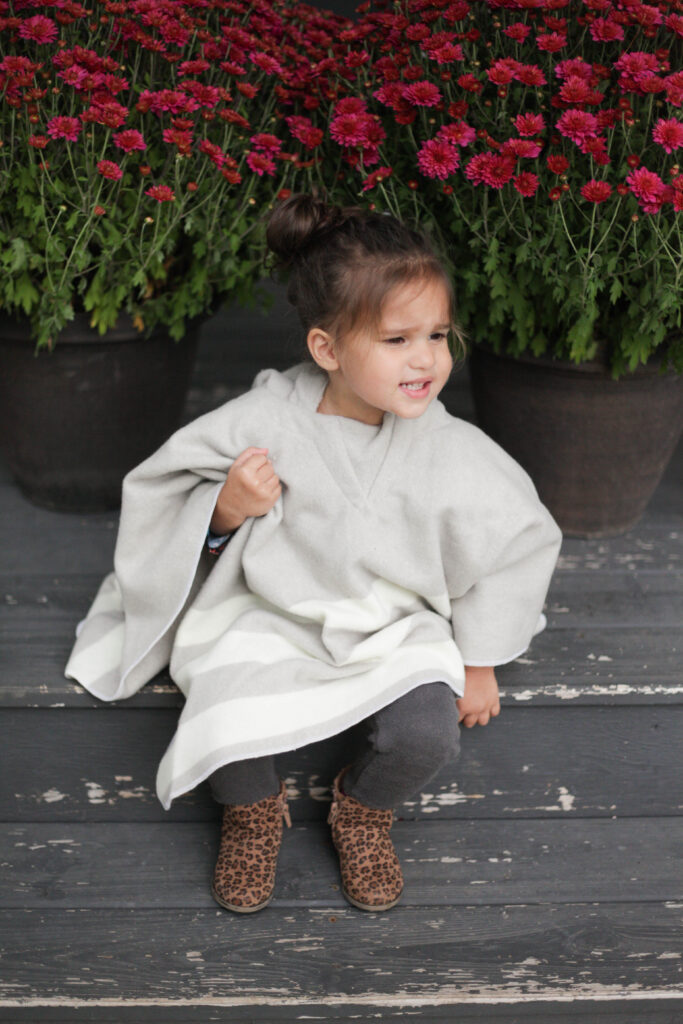 Faribault Woolen Mill Baby Poncho