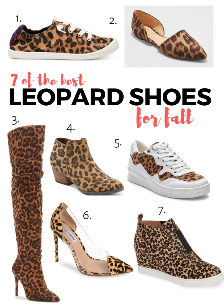 7 of the best leopard shoes for fall