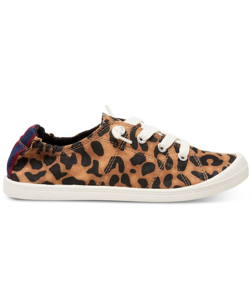 casual leopard sneakers