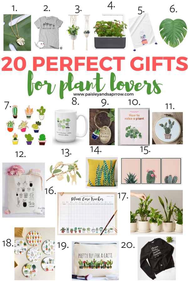 20 perfect gifts for plant lovers!