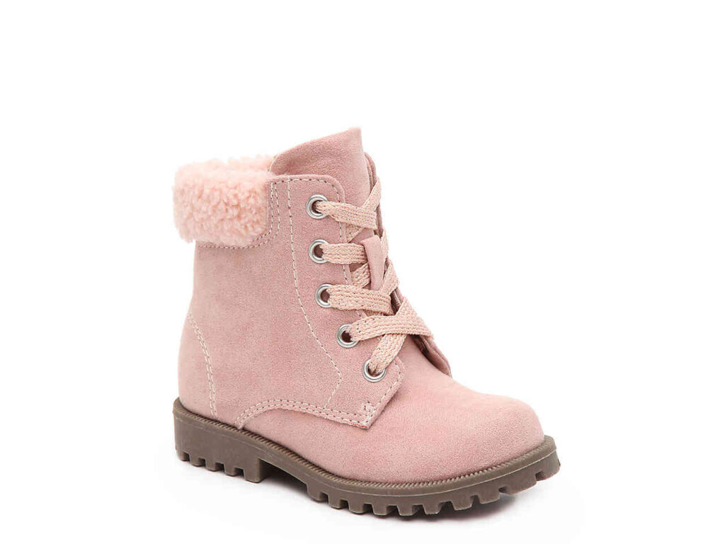 Allie boots - pink toddler boots