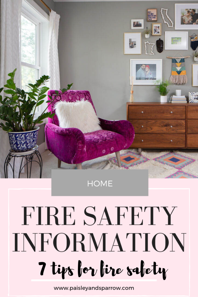 7 Tips for Fire Safety