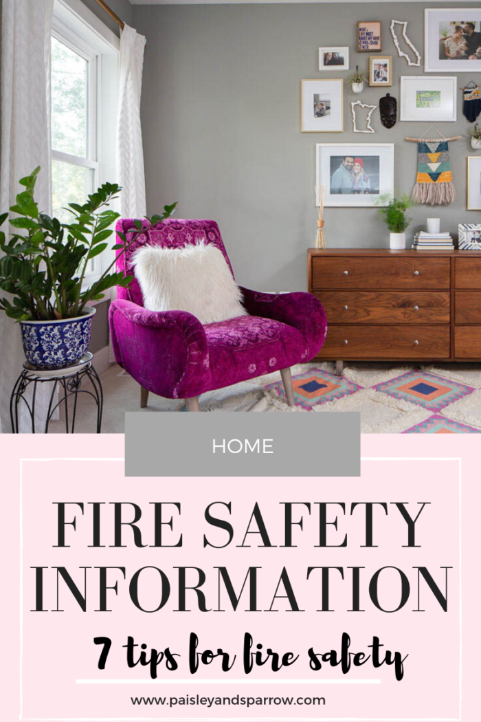 Fire Safety Information – Fire Prevention