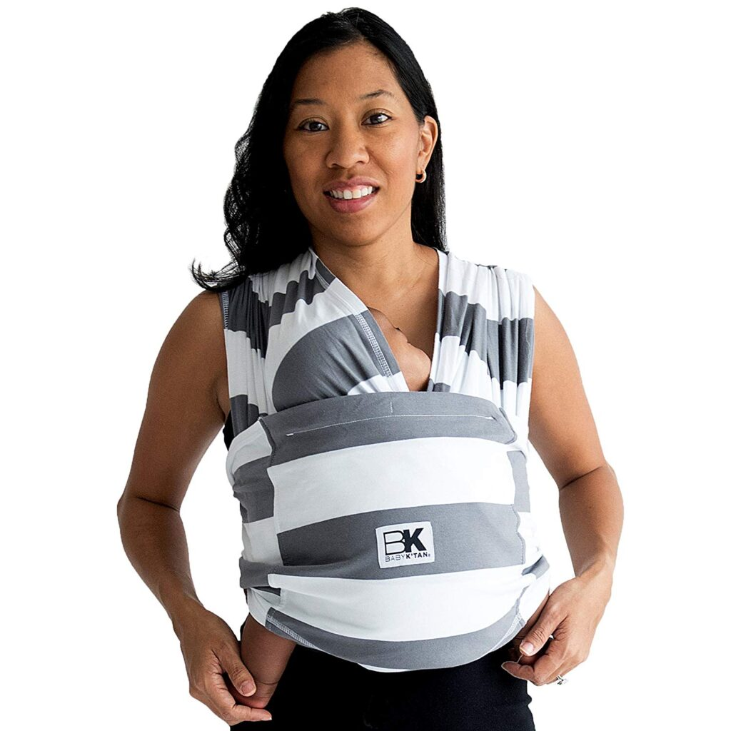 The easiest baby carrier to use - a Baby K'tan!