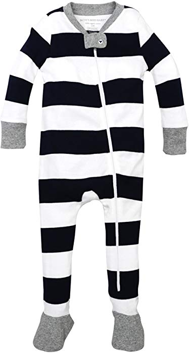Cozy, comfortable and soft Amazon pajamas for newborns.