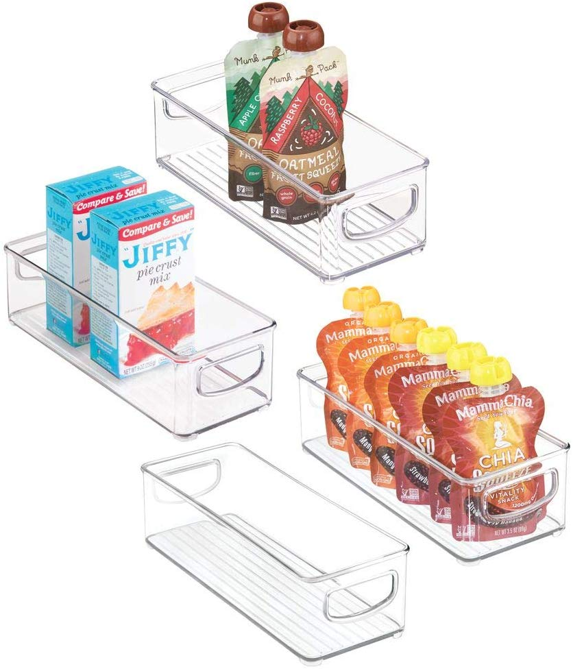 Organize your life with these stackable storage bins from Amazon! #organization
