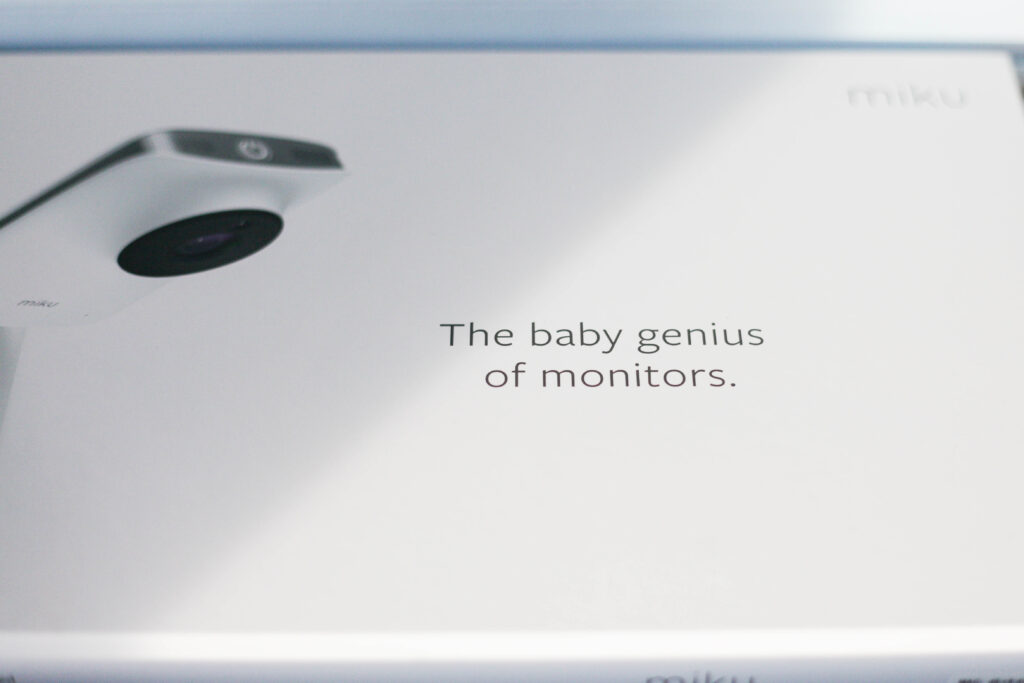 Miku - the baby genius of monitors