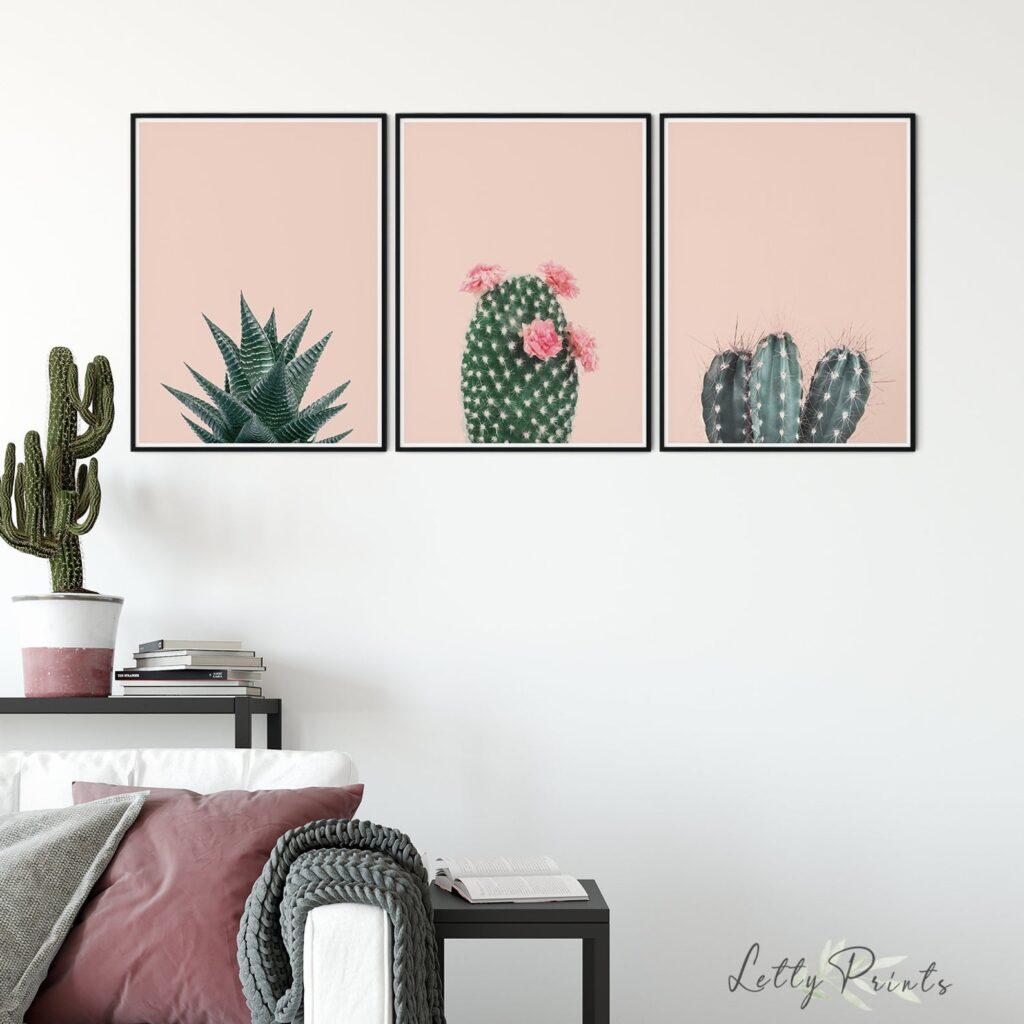 Cactus printable art.