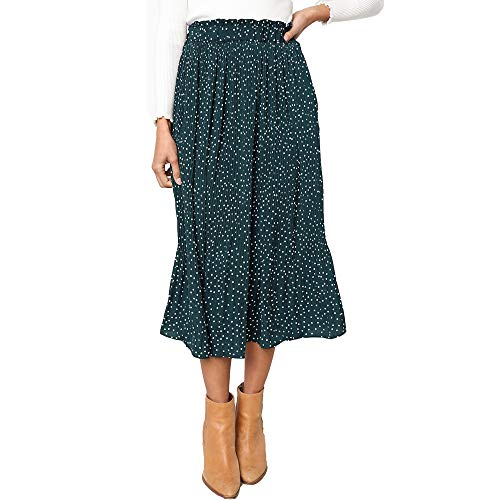 Amazon midi skirt - comes in a variety of colors and patterns!
