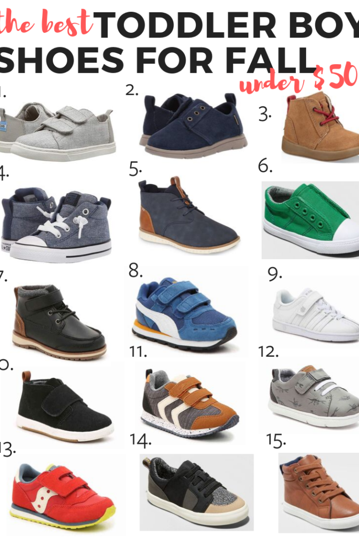 Best Toddler Shoes for Boys – Under $50