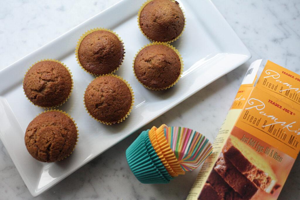 Trader joe's pumpkin muffins
