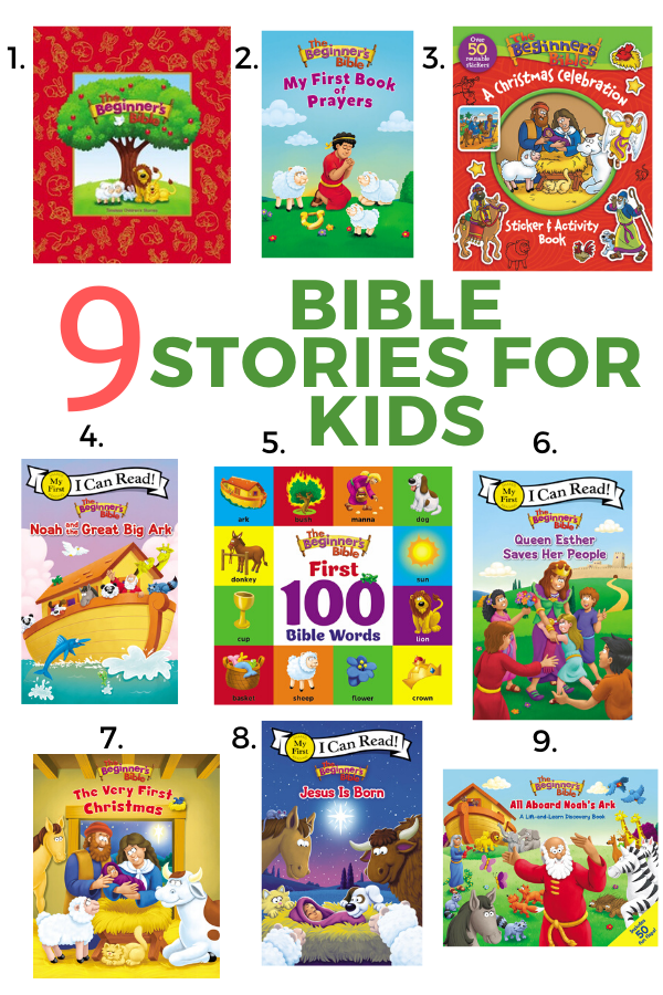 9 Bible Stories for Kids - the best books for kids