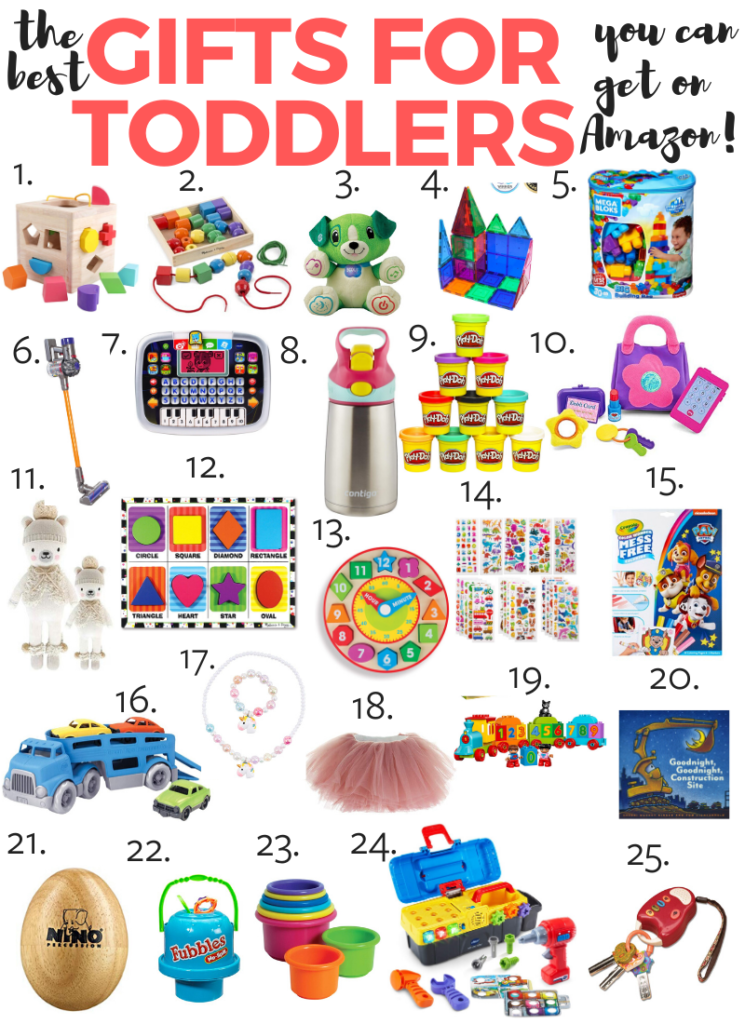 the best gifts for toddlers you can get on Amazon