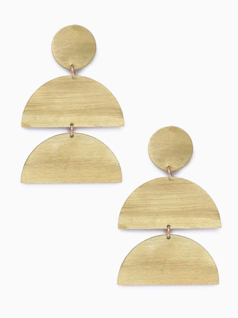 Silhouette Earrings (ABLE) $58