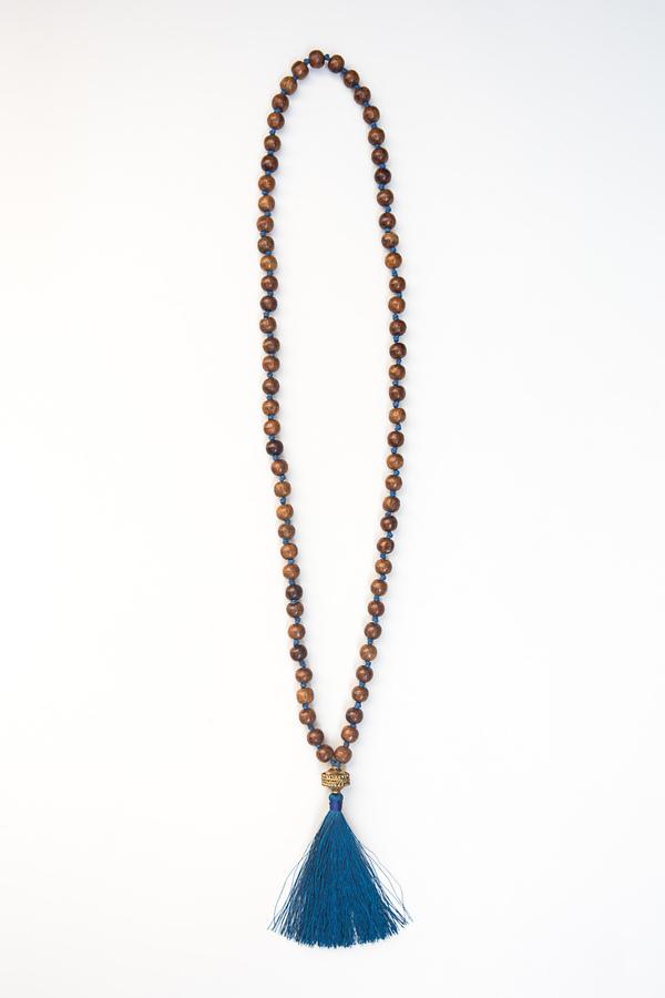 Wooden Warrior Tassel Necklace (Fair Anita) $24