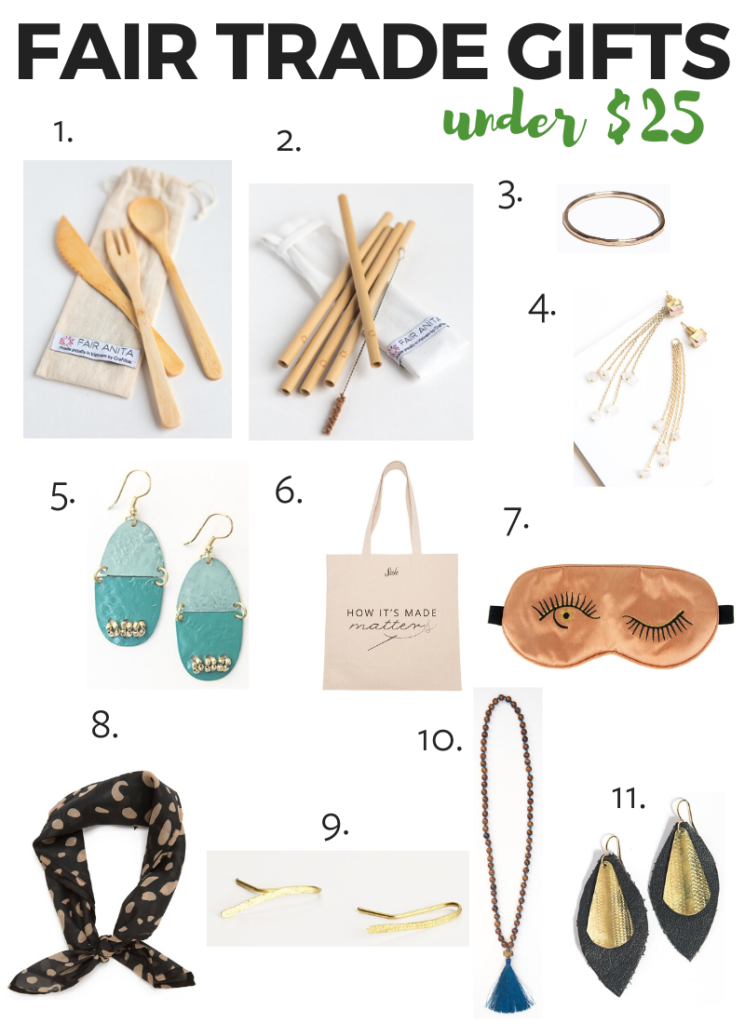 Fair trade gifts under $25