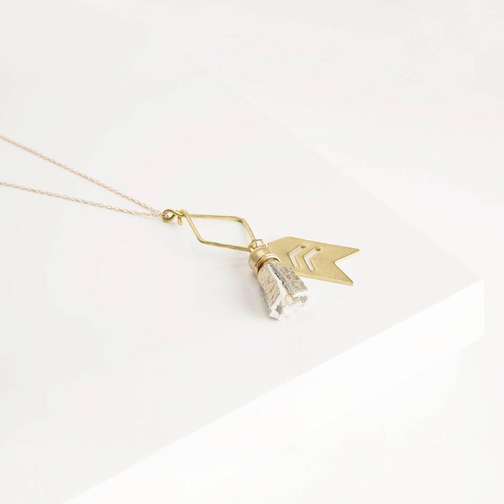 Brave Necklace Short Chain (Sseko) $39.99